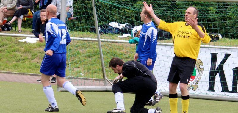 Ü40 ohne Torerfolg beim Westfalen Cup