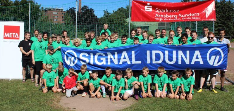 Fußballferiencamp ein voller Erfolg
