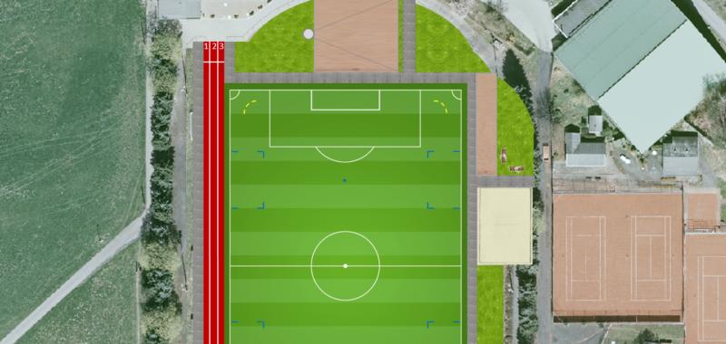 Stadtrat winkt Zuschuss für Sportplatz-Projekt durch