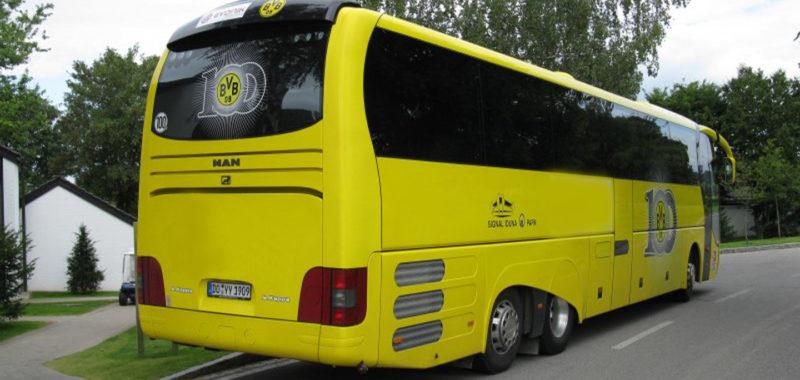 Fußball-Abteilung kauft ausgemusterten BVB-Bus