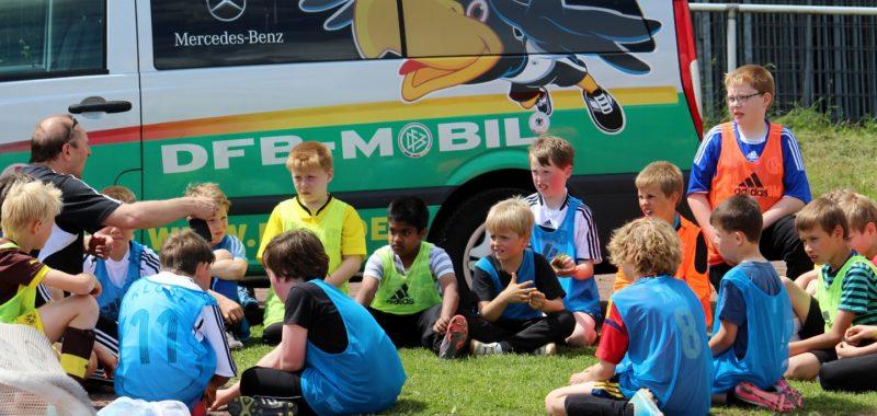 Trainingsauftakt der F-Jugend und Bambinis