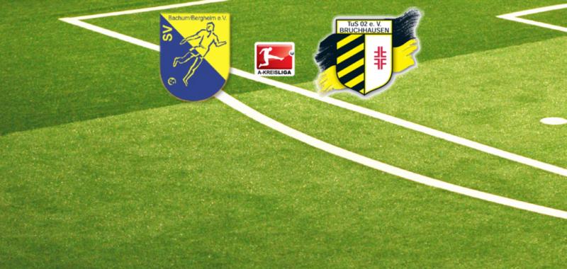 Duell zum Vereinsjubiläum des SV Bachum/Bergheim
