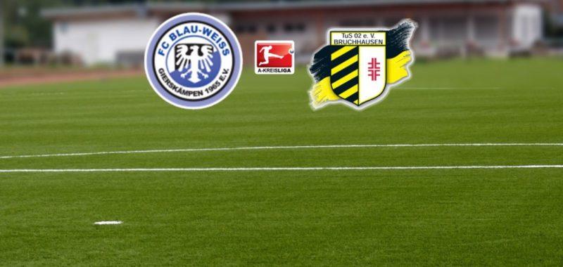 Keine gute TuS Bilanz gegen FC BW Gierskämpen