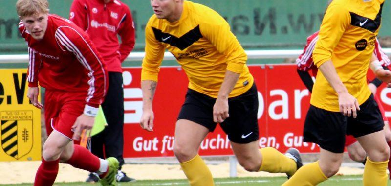 Bruchhausen feiert 2:1-Heimsieg gegen SSV Küntrop