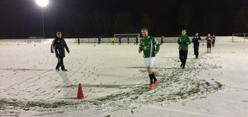 Hiag-Elf startete mit erstem Training auf Schnee