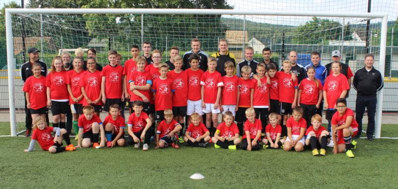 11. Fußball-Feriencamp vom 30.07.-02.08.