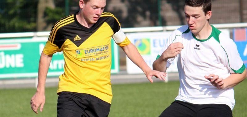 Mittwochabend Pokalspiel gegen den SSV Allendorf