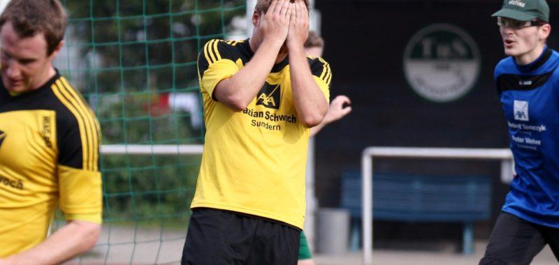 2:3-Niederlage - Keine Punkte in Oeventrop