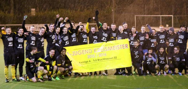 TuS Bruchhausen ist A-Jugend MEISTER 2015/2016 !!!