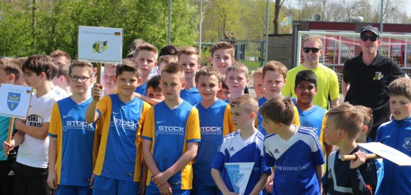 Die D-Jugend bei der Ijssel Trophy