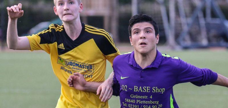 Erste Auswärtsreise in der U19-Aufstiegsrunde zur SpVg Olpe
