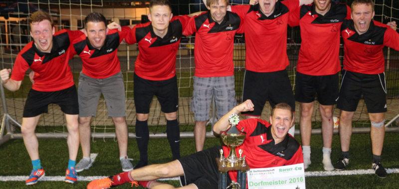 Kegel-Club 64 gewinnt Dorfmeisterschaft 2016