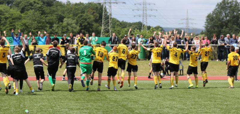 U19 feiert Sensations-Aufstieg in die Bezirksliga !!!