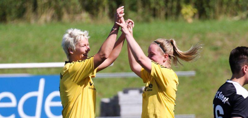 Damen starten mit 3:0-Heimsieg in den Ligapokal