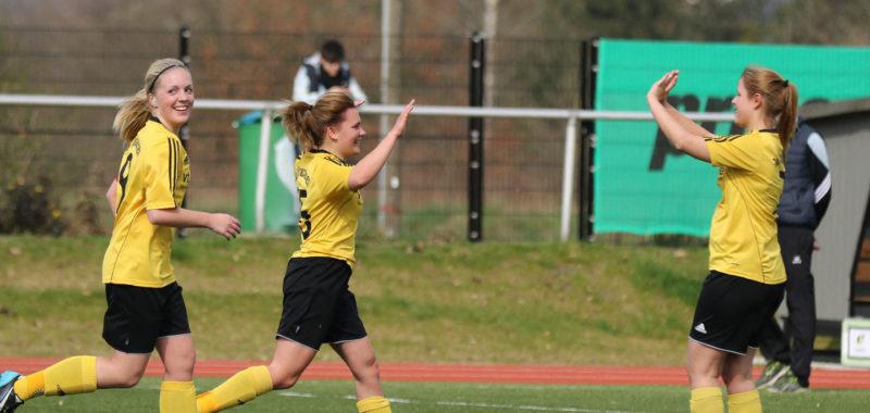 TuS-Damen feiern 6:1-Sieg zum Ligastart