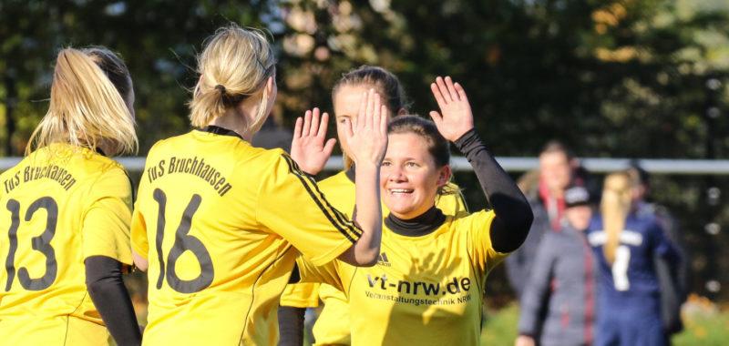 TuS-Damen trennen sich mit 3:3 von Bachum/Bergheim
