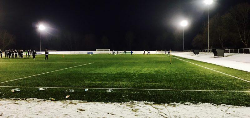 Testspiel des TuS Oeventrop in Bruchhausen
