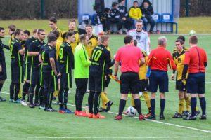 Der FLVW Arnsberg hatte für das Spiel in Gierskämpen ein Schiedsrichtertrio angesetzt.