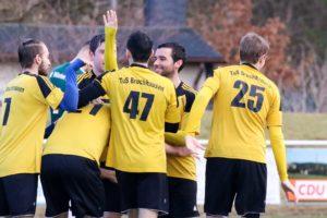 Bruchhausen gewinnt das erste Heimspiel im Kalenderjahr 2017.