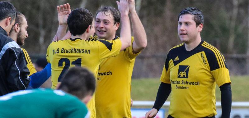 Bruchhausen feiert Derbysieg gegen Hüsten 09 II