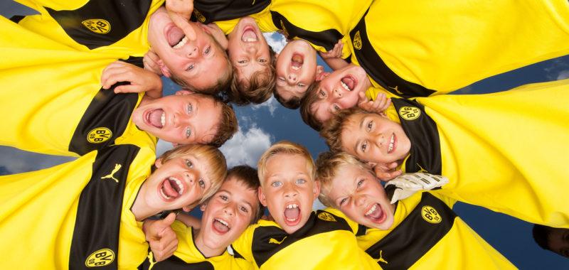 BVB-Fußballschule am langen Wochenende in Bruchhausen