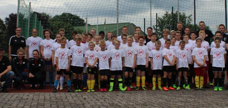 13. Fußball Feriencamp ein voller Erfolg