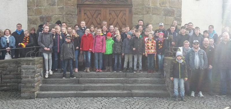 Jugendabteilung besucht U19-Länderspiel