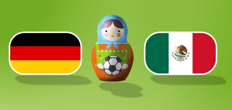 Deutschland gegen Mexiko auf dem campus!