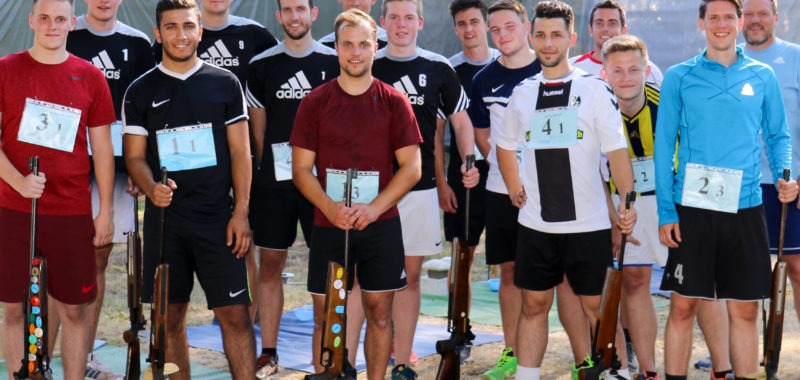 Sommer-Biathlon in der Saisonvorbereitung