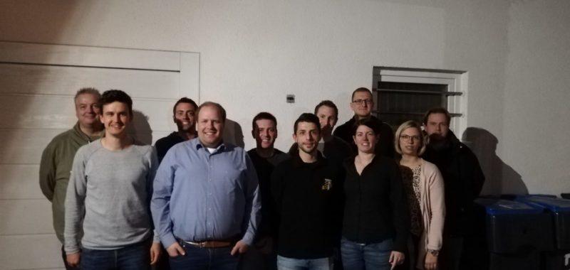 Giuliano Schulte als neuer Abteilungsleiter gewählt