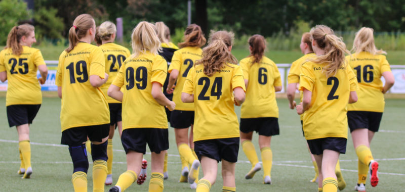 Kreispokal-Heimspiel zum Saisonstart der Damen
