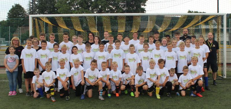 Volles Haus beim 15. Fußball-Feriencamp