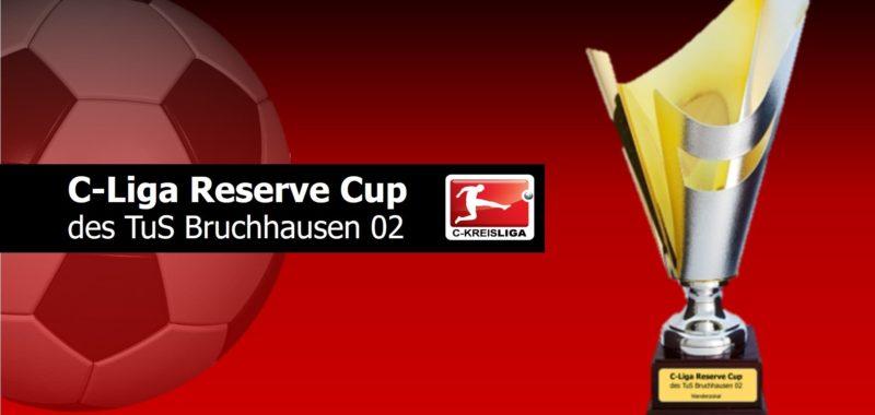 C-Liga Reserve Cup 2020 am Freitag, den 31. Januar