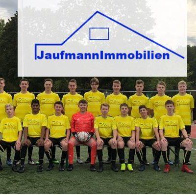 Jaufmann Immobilien sponsort 3 neue Trikotsätze